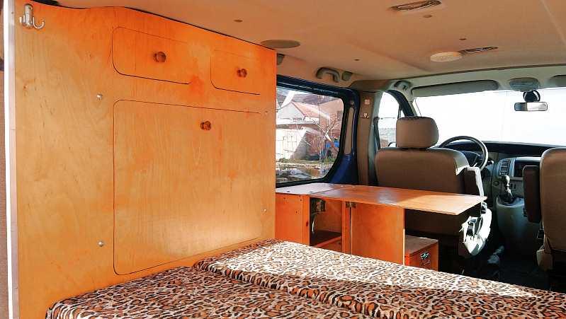Birken Sperrholz für den Möbelbau im Camper