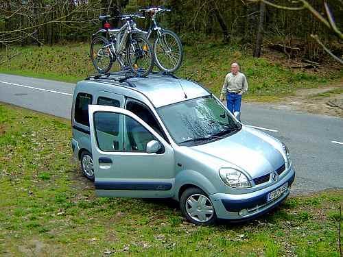 Minicamper Renault ausbauen