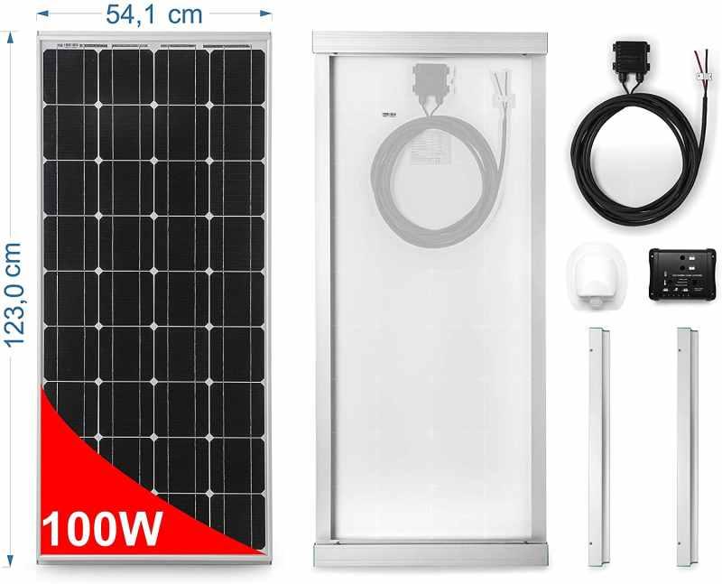 Solaranlage für Wohnmobil Komplett Set