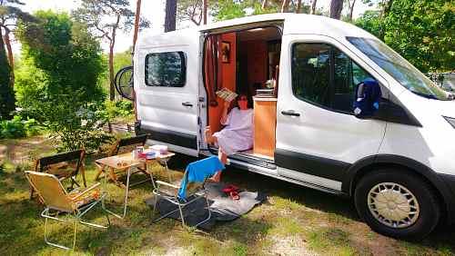 Kastenwagen Camper ausbauen Ford Transit