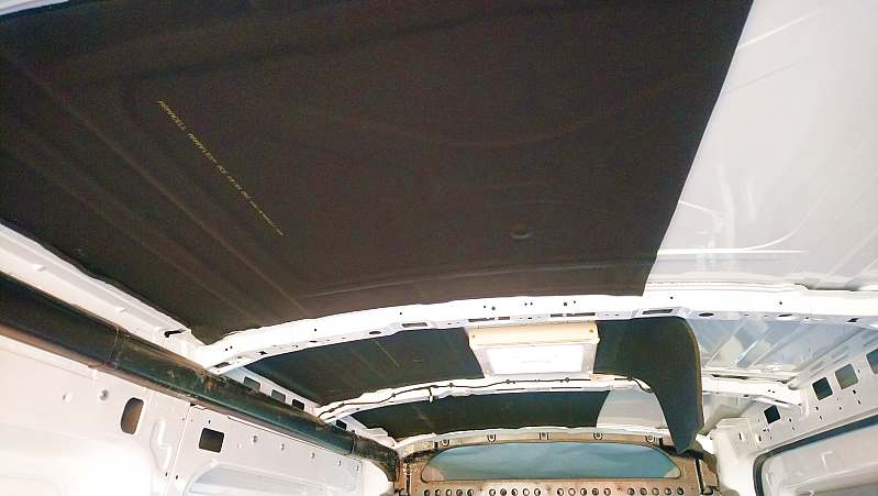Dämmung im Kastenwagen mit Armaflex