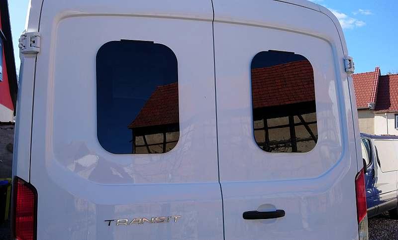 Mobilcamper Fenster aus Sicherheitsglas