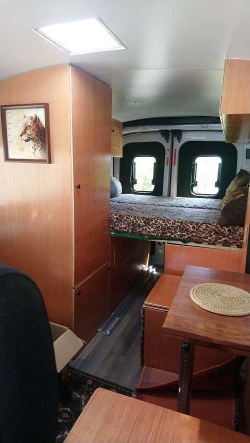 Kühlbox im Schrank Ford Transit Camper Ausbau