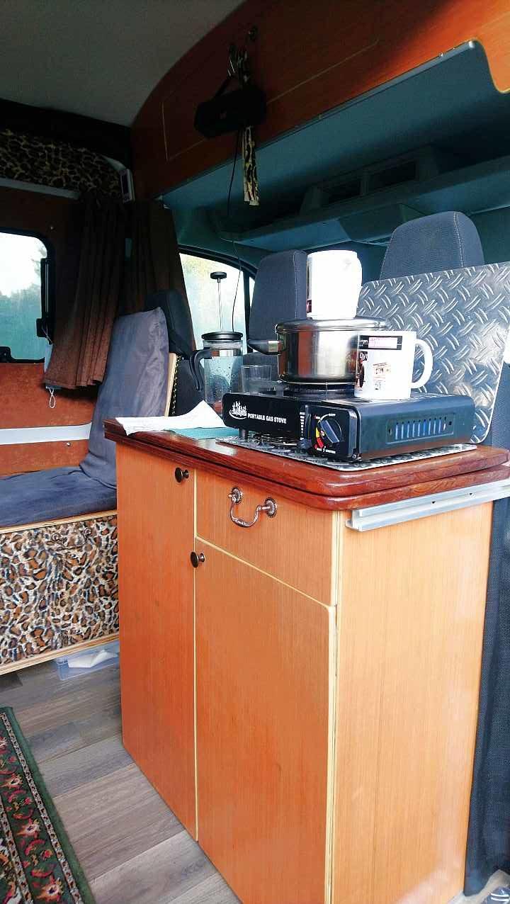einfacheKüche Kastenwagen Ford Transit