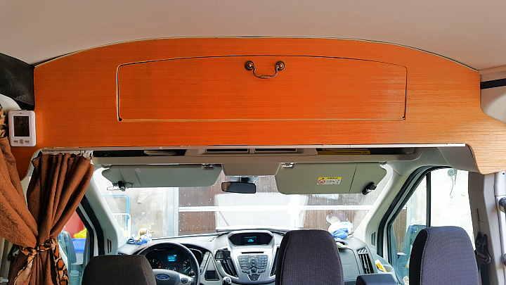 Ford Transit Stauraum Verkleidung Kastenwagen