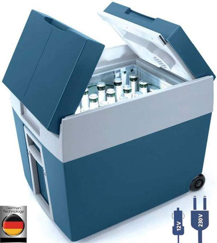 Kombi-Kühlbox für Camper mit 12 V und 230 V
