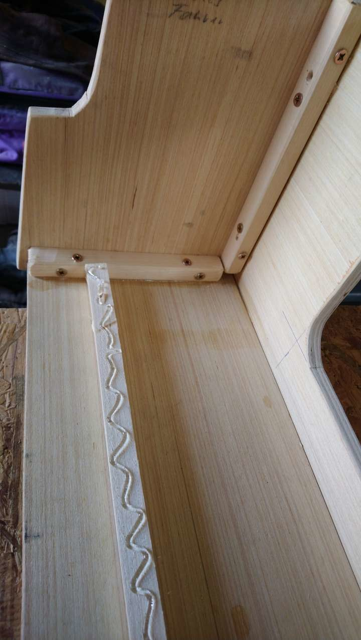 Kastenwagen Ausbau Pappelsperrholz