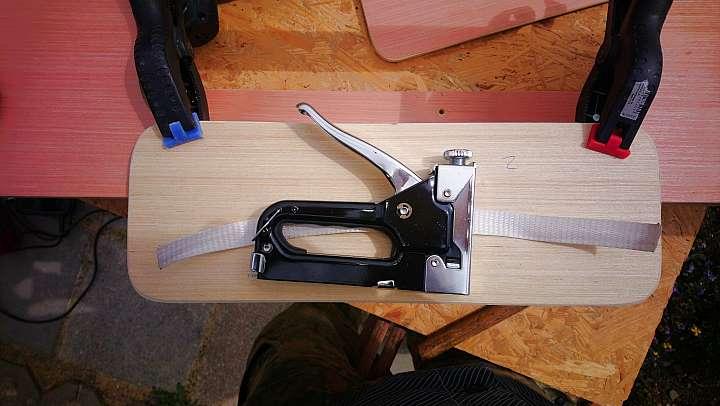 Scharnierband aus Textil Kastenwagen Ausbau