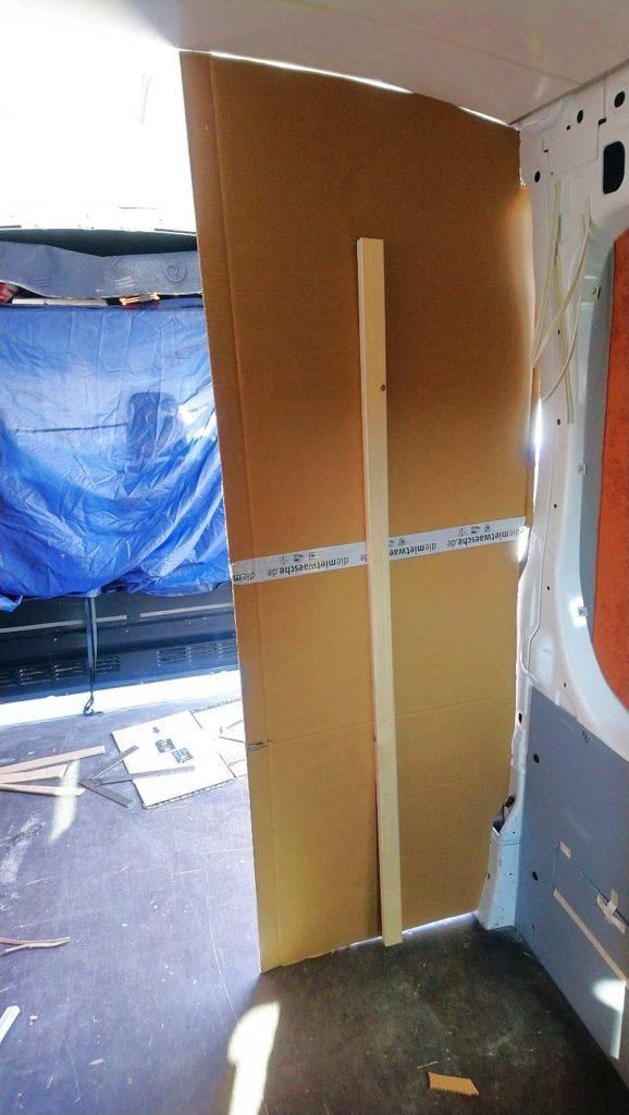 Schablone Camper Ausbau Möbel Sperrholz