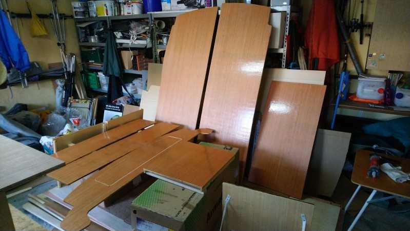 Camper Ausbau Möbel Sperrholz